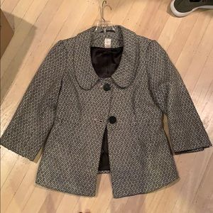 Aqua Size S 3/4 sleeved blazer